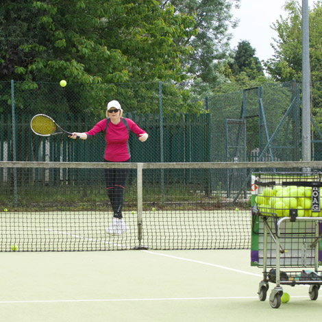individual tennis lessons
